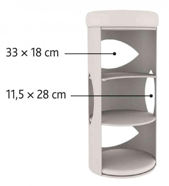 Trixie Kratztonne Cat Tower Gracia 85 cm