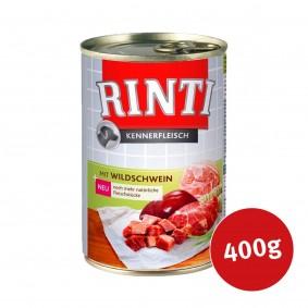 Rinti Nassfutter Kennerfleisch mit Wildschwein 400g
