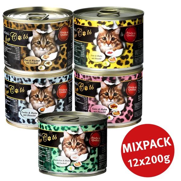 O'Canis Katzen-Nassfutter Mixpaket