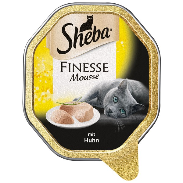 Sheba Finesse in Mousse mit Huhn