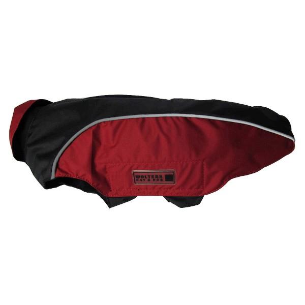 Wolters Regenjacke Easy Rain für Mops und Co in schwarz und rot