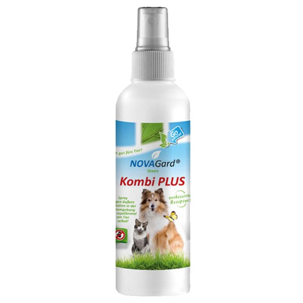 novagard green anti parasiten kombi spray f r hunde und katzen 200 ml. Black Bedroom Furniture Sets. Home Design Ideas