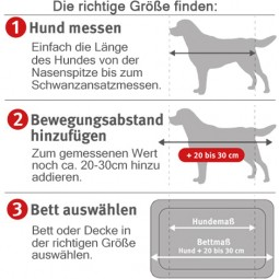 ZooRoyal Hundekissen Max grau