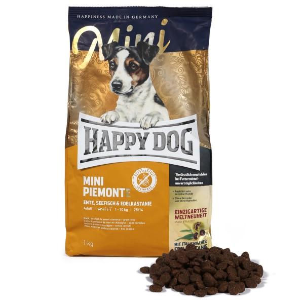 Happy Dog Mini Piemonte mit Ente & Seefisch