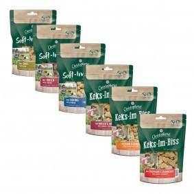Christopherus getreidefreies Mixpaket aus 6 verschiedenen Snacks