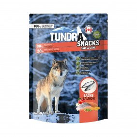 Tundra Dog Snack Skin & Coat Lachs