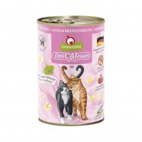 GranataPet Katze - Delicatessen Dose Lachs & Meeresfrüchte