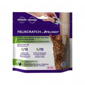Feliscratch by Feliway pipety, 9 x 5 ml