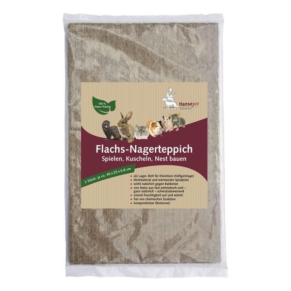 Hansepet Flachs-Nagerteppich
