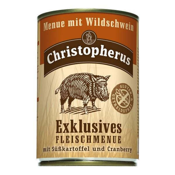 Christopherus Exklusives Fleischmenü Wildschwein