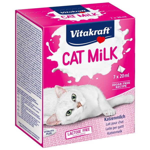 Vitakraft Katzensnack Cat Milk 7x20 ml