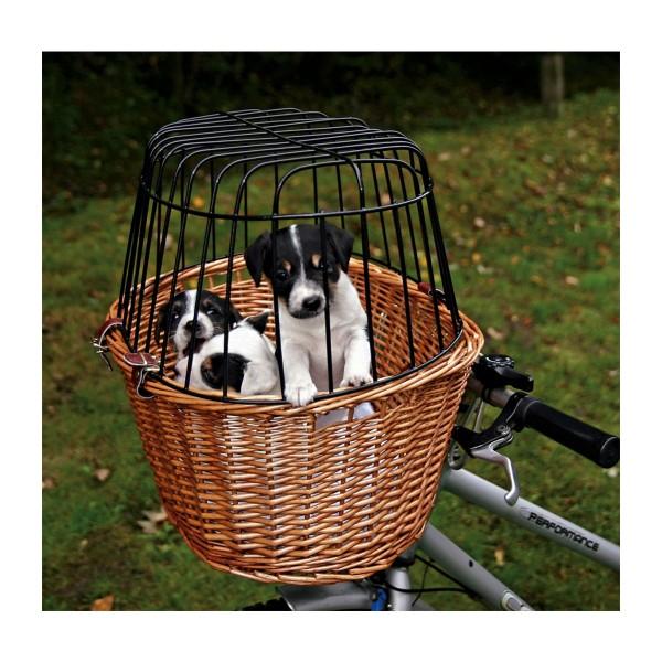 Trixie Fahrradkorb mit Gitter