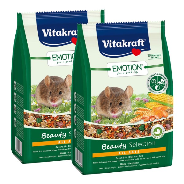 Vitakraft Emotion Beauty Selection Mäuse 2x300g