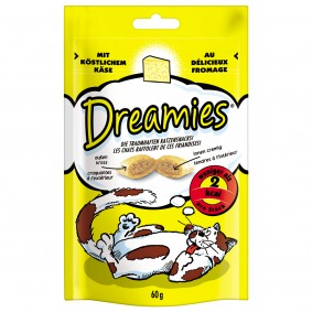 Dreamies au fromage pour chats 60 g