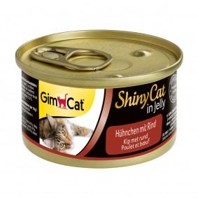 GimCat ShinyCat Hühnchen & Rind