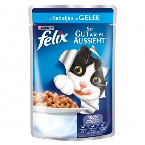Felix - So gut wie es aussieht mit Kabeljau 40x100g