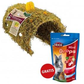 Hansepet Heu-Abenteuerhöhle groß PLUS Mini Drops GRATIS!