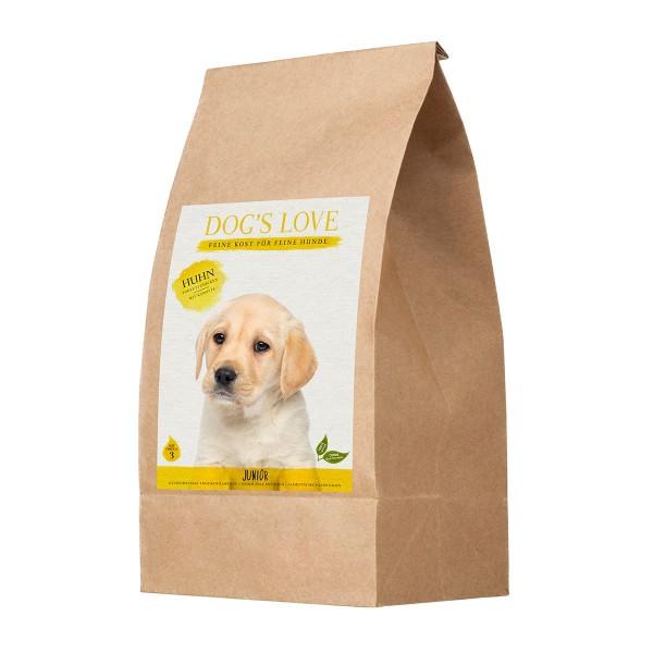 PetCo Dog´s Love Trockenfutter Junior Huhn mit Süßkartoffel & Karotte - 2kg jetztbilligerkaufen