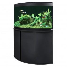 Hagen Fluval Panoramaaquarium mit LED-Beleuchtung Venezia 190 - Schwarz