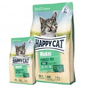 Happy Cat Minkas Perfect Mix Geflügel, Fisch & Lamm 10kg + 1,5kg gratis