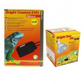 Lucky Reptile Bright Sun + Bright Control EVO Desert 70 Watt