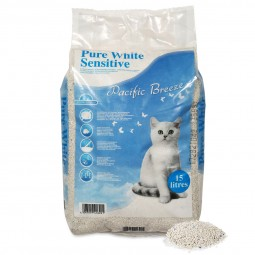 ebi Pure White Sensitive Katzenstreu 15l