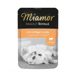 Miamor Ragout Royale in Jelly Kitten Geflügel