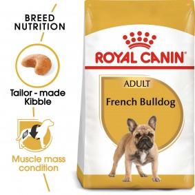 ROYAL CANIN French Bulldog Adult Hundefutter trocken für Französische Bulldoggen