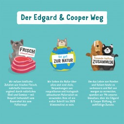 Edgard & Cooper Junior Bio Huhn & Bio Fisch