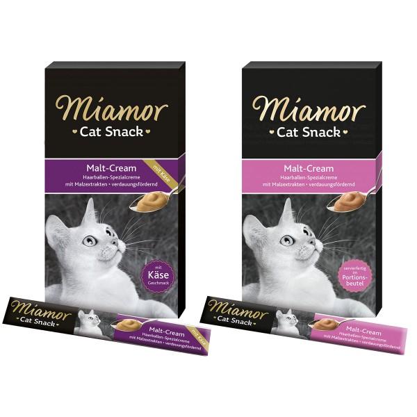 Miamor Cat Snack Cream Mixpaket 2x6x15g