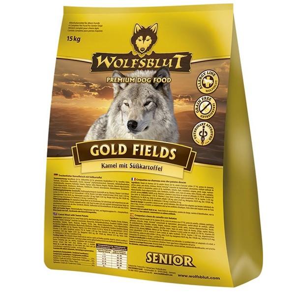 Wolfsblut Gold Fields Senior Kamel, Strauß & Süßkartoffel