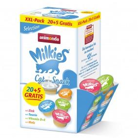 animonda Milkies Adult Selection 20+5 GRATIS Mixpack 25 x 15g