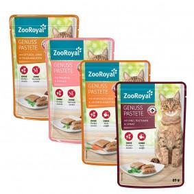 ZooRoyal Genuss Pastete Mixpaket 96x85g