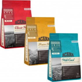 ACANA Trockenfutter Mixpaket 3x2 kg