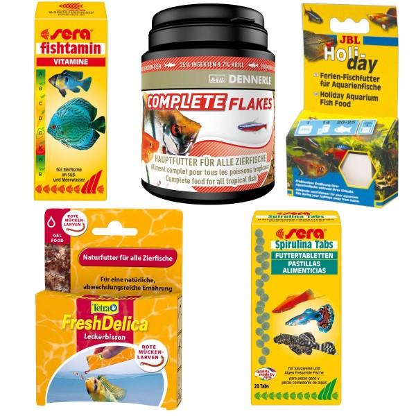 Fischfutter Starter-Spar-Paket