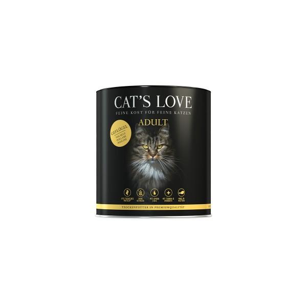 Cat's Love Trockenfutter Adult Geflügel 400g