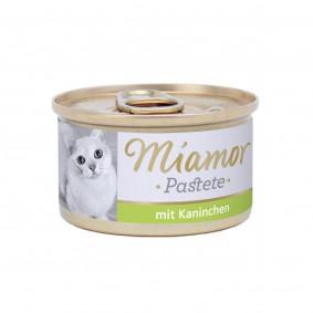 Miamor Katzenzarte Fleischpastete Kaninchen