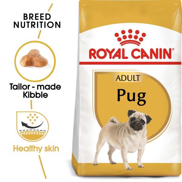 ROYAL CANIN Pug Adult Hundefutter trocken für Mops