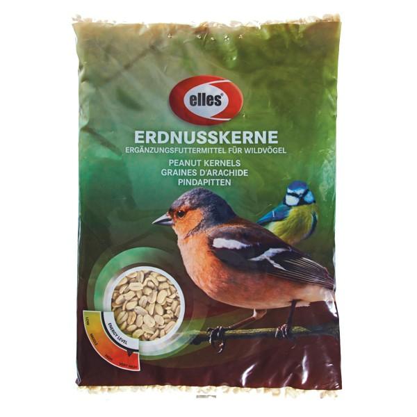 Haustier: elles Wildvogelfutter Erdnusskerne 2,5kg
