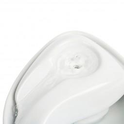 Pioneer Pet Keramik Trinkbrunnen Rain Drop Style 1,8 l weiß
