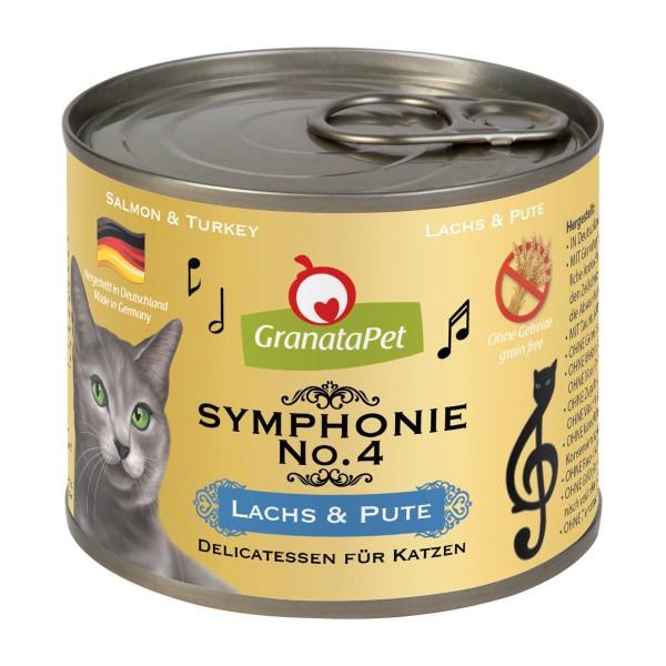 GranataPet Symphonie No. 4 Lachs & Pute 6x200g