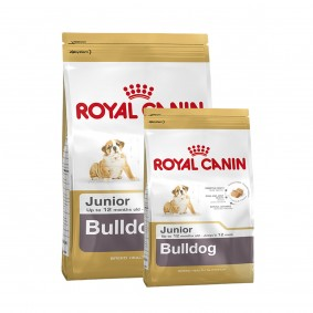 Royal Canin Bulldog Junior 12kg+3kg Gratis!