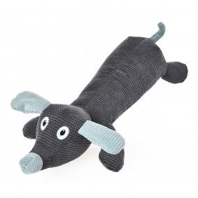 ZooRoyal Hundespielzeug Hund liegend Anthrazit