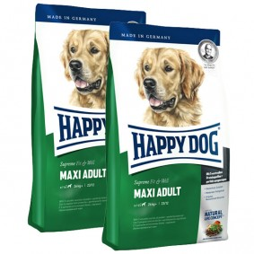 Happy Dog Supreme Fit & Well im Doppelpack Maxi Adult 2x15kg