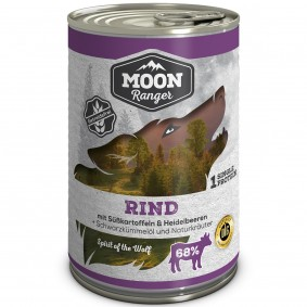 Moon Ranger Rind mit Süßkartoffeln & Heidelbeeren