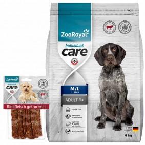 ZooRoyal Individual Care Adult Rind 4kg + Snack gratis