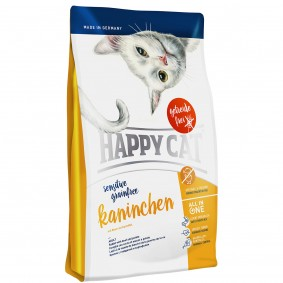 Happy Cat Sensitive Grainfree Kaninchen  3x4kg