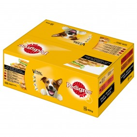 Pedigree Portionsbeutel Multipack Adult in Sauce