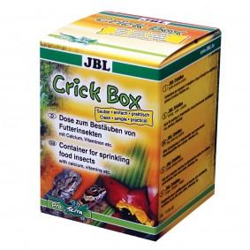 JBL CrickBox - Boite à agiter pour saupoudrer les insectes alimentaires