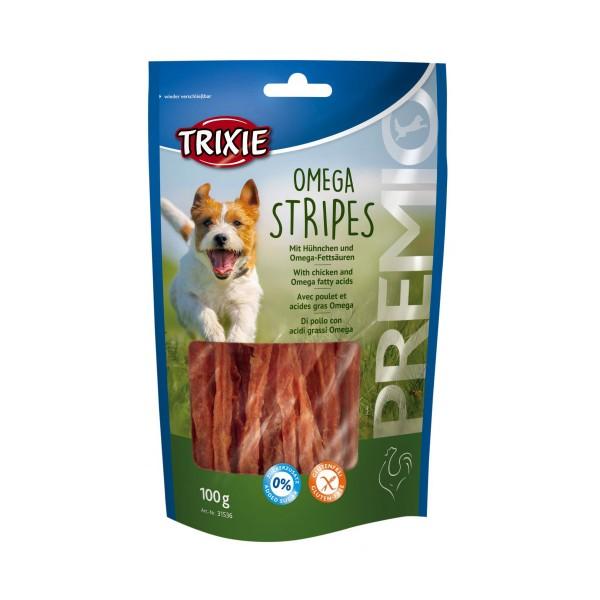 Trixie Hundesnack PREMIO Omega Stripes Hühnchen 100g